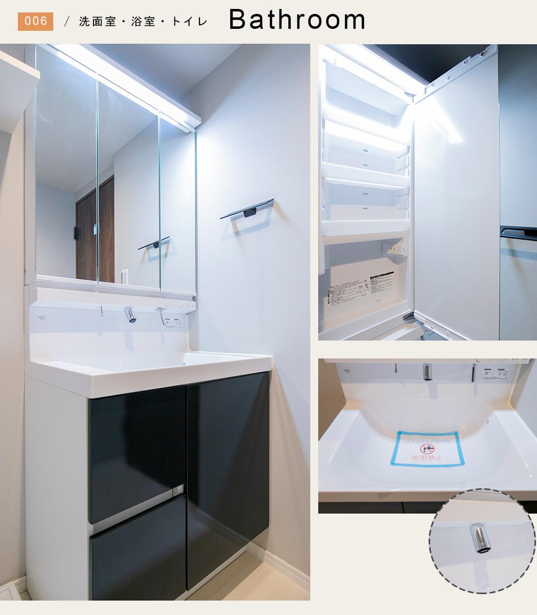 ライオンズマンション桜上水第二の洗面室
