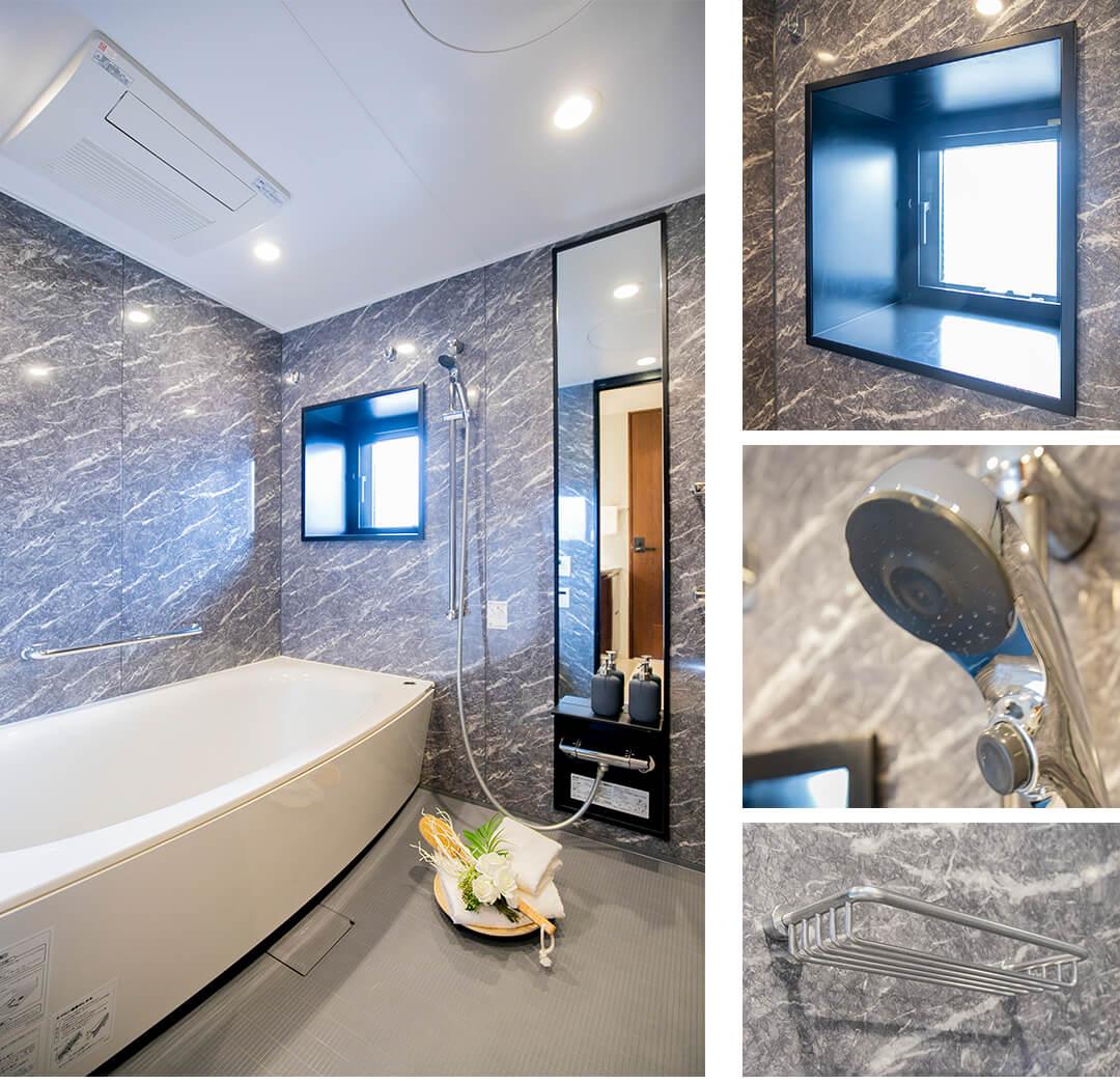 パークナード南麻布の浴室