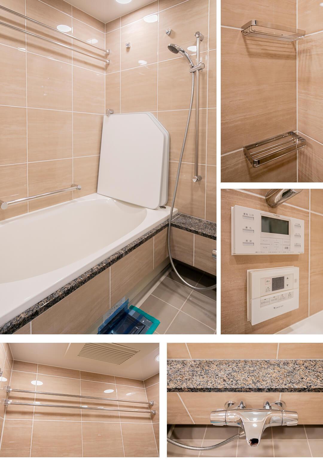 プラウド恵比寿ディアージュの浴室