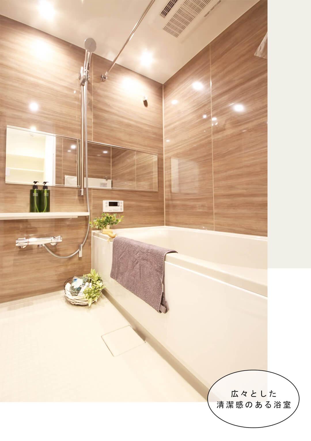 プレジャーガーデン森下 201の浴室