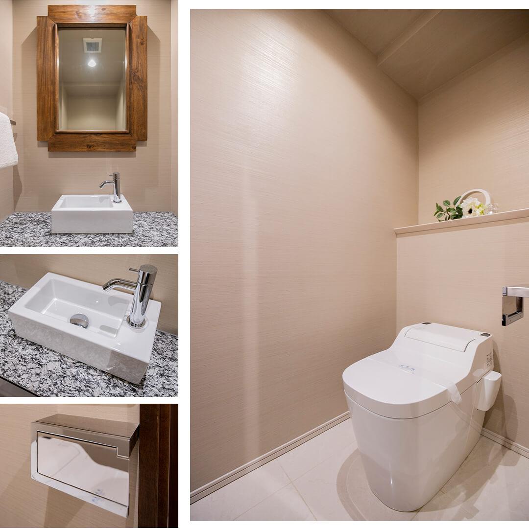 パークナード南麻布のトイレ