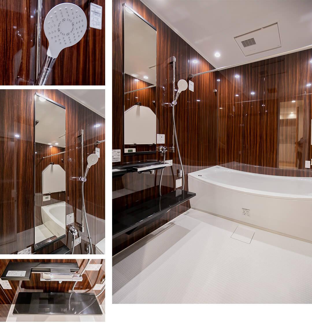 パレ・ロワイヤル永田町の浴室