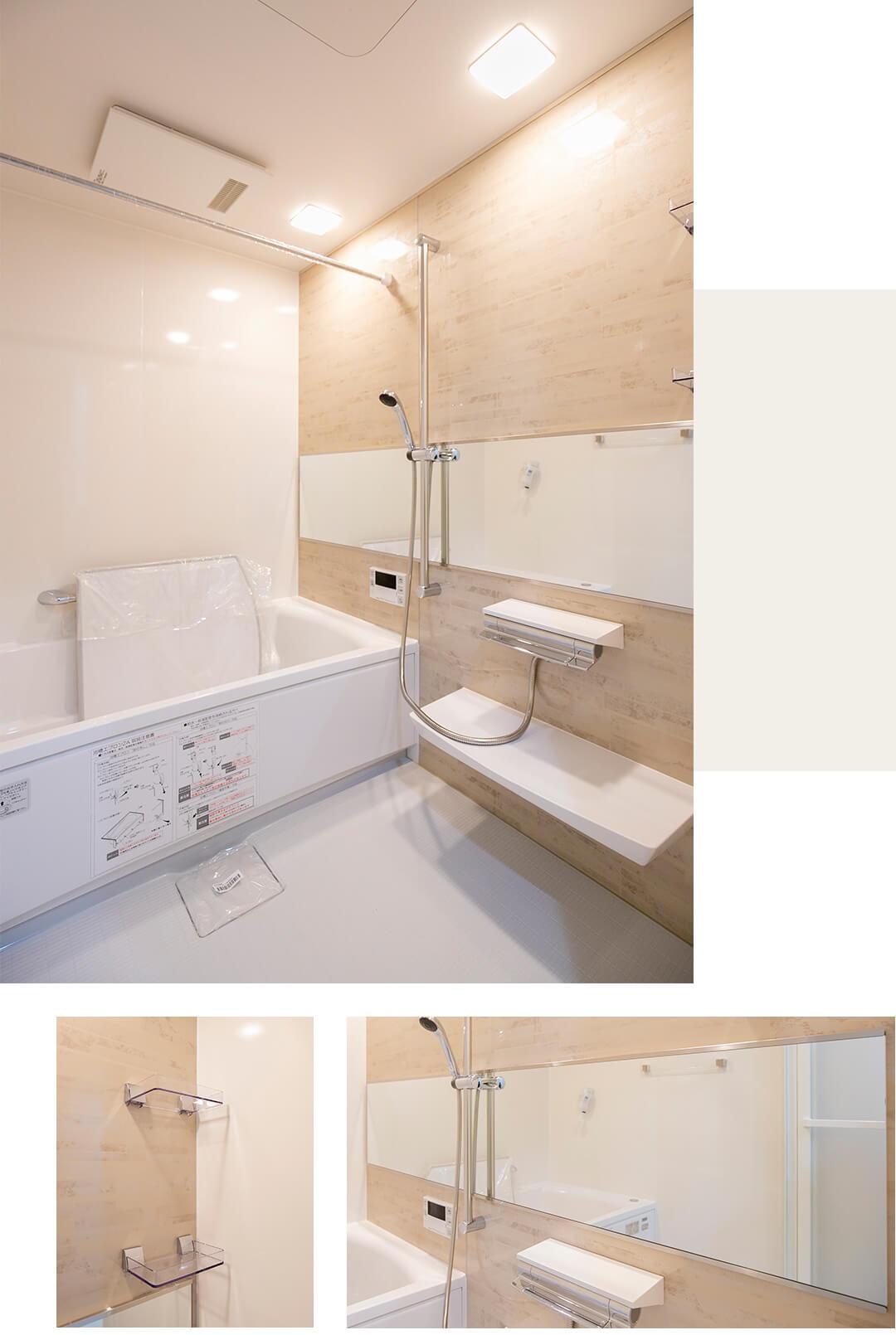 アクティス高田馬場四丁目の浴室