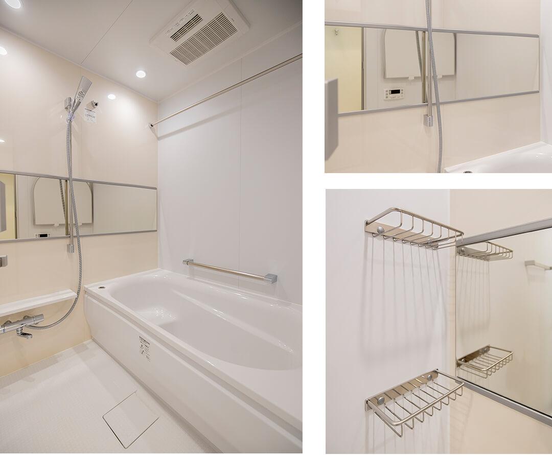 リブネスモア戸田公園206の浴室