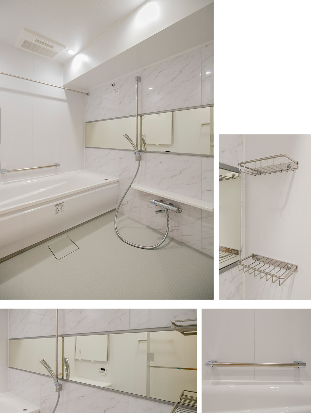 リブネスモア戸田公園303の浴室