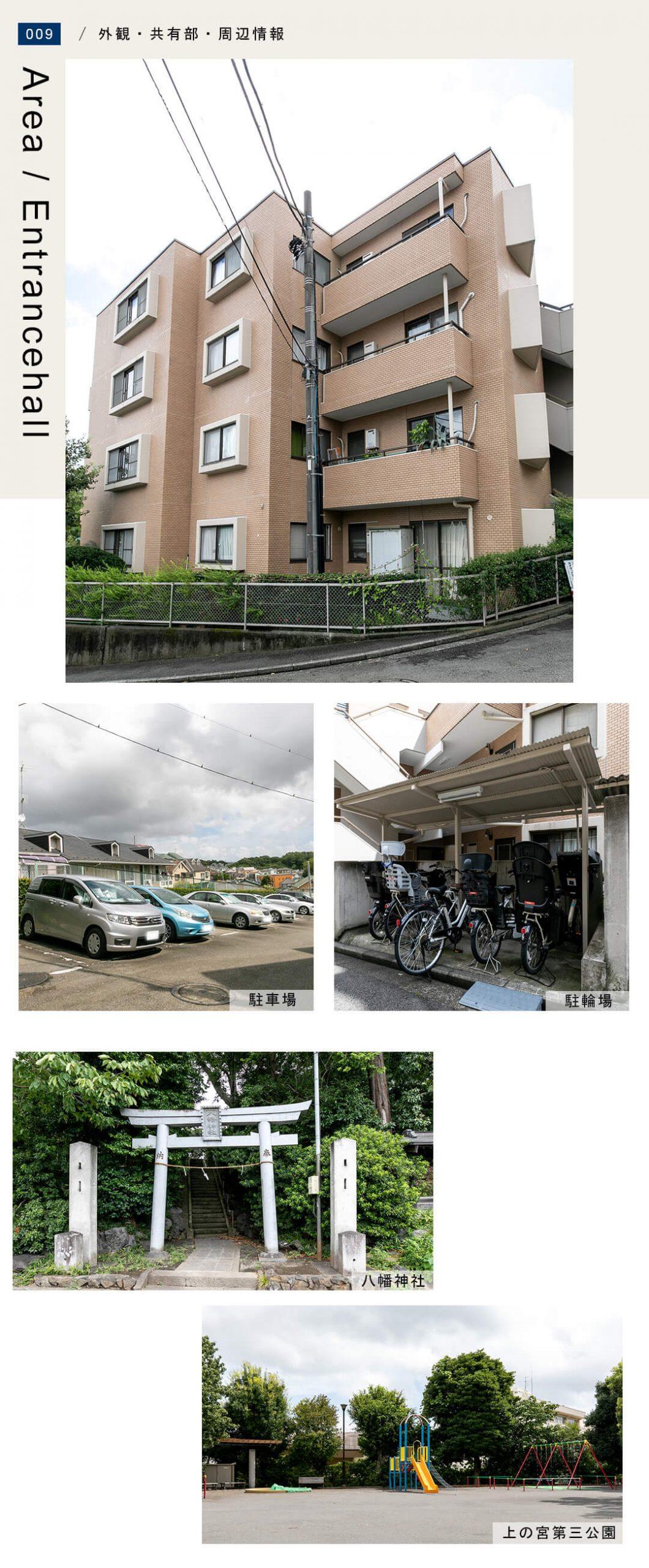 バームハイツ菊名参番館壱の外観・共用部・周辺情報