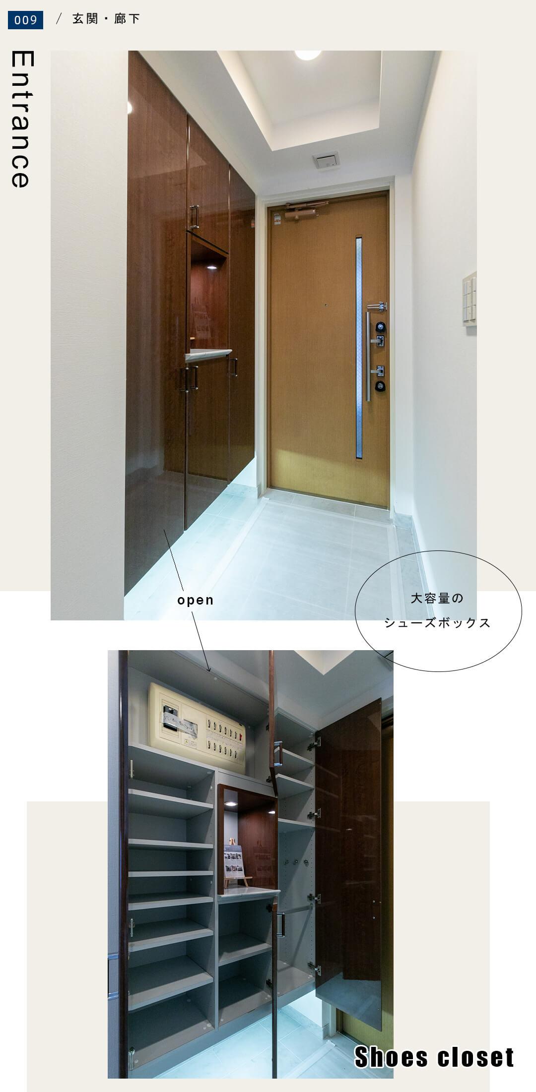 009玄関,廊下,Entrance