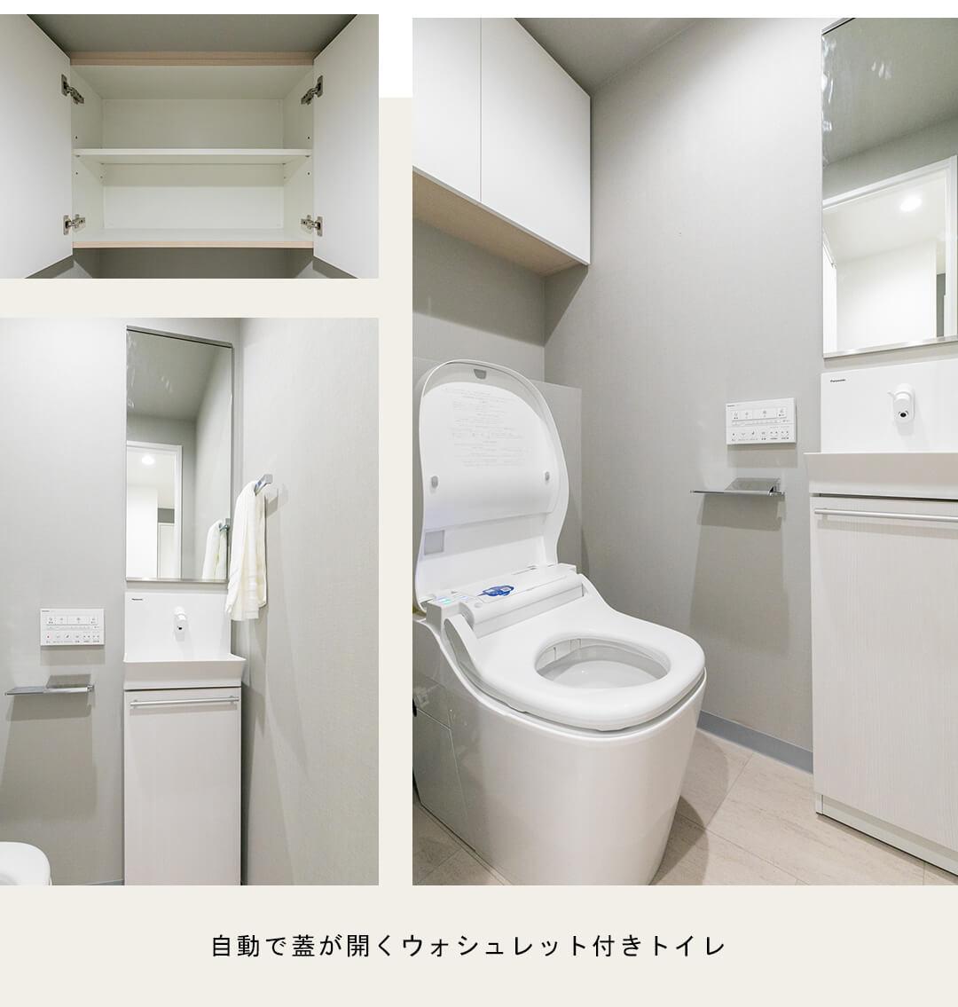 天王洲デュープレックスのトイレ
