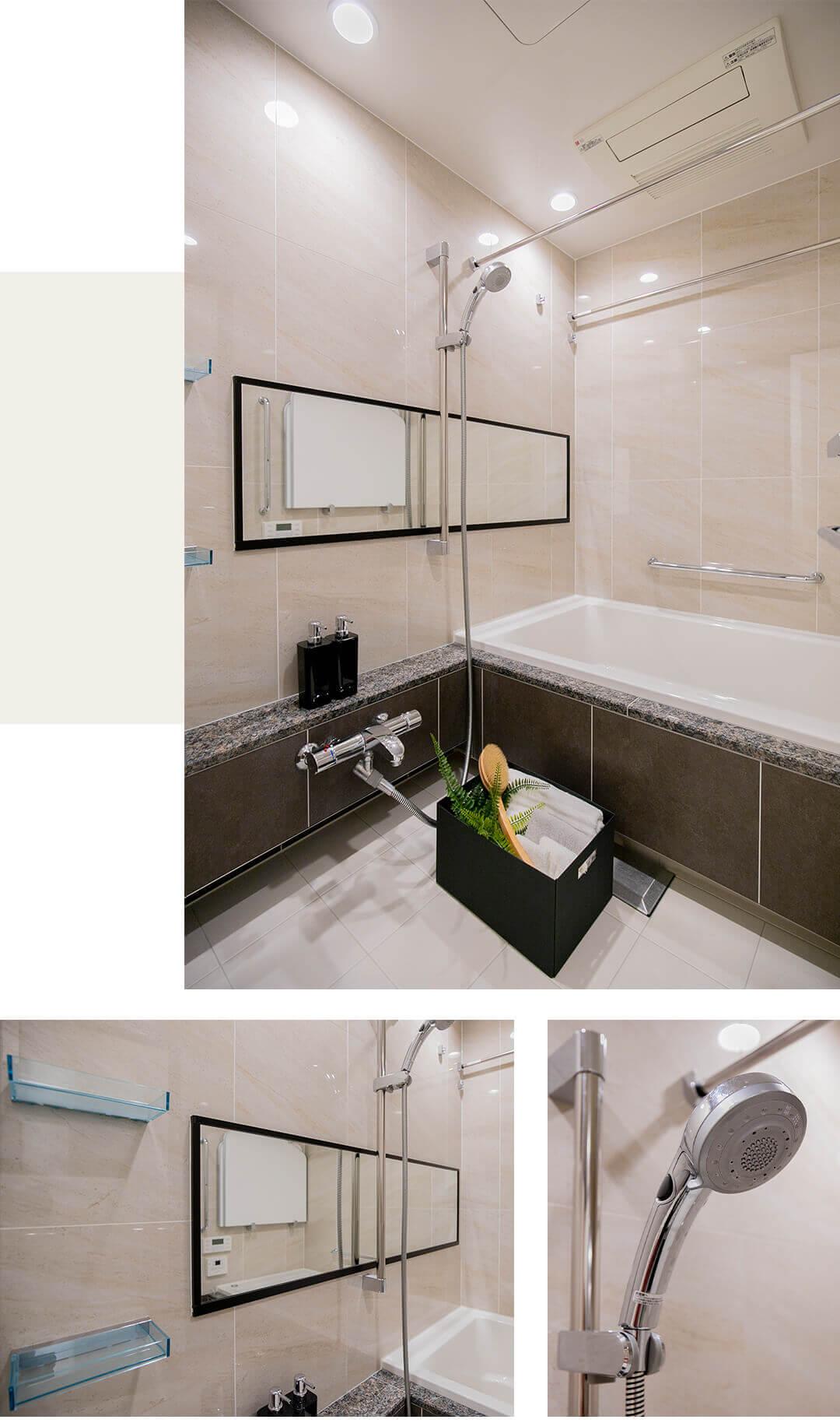 プラウド恵比寿南の浴室