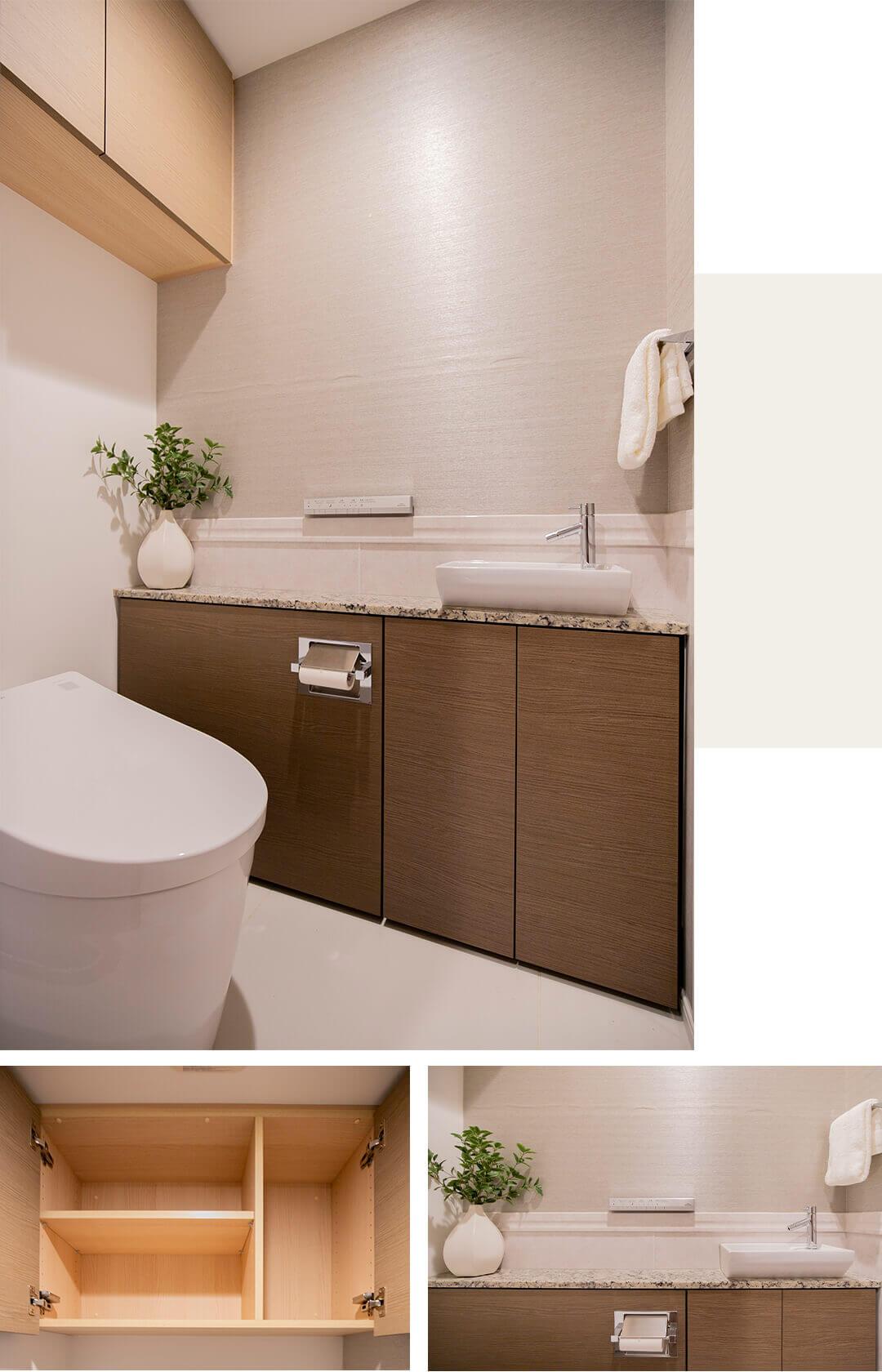 プラウド恵比寿南のトイレ