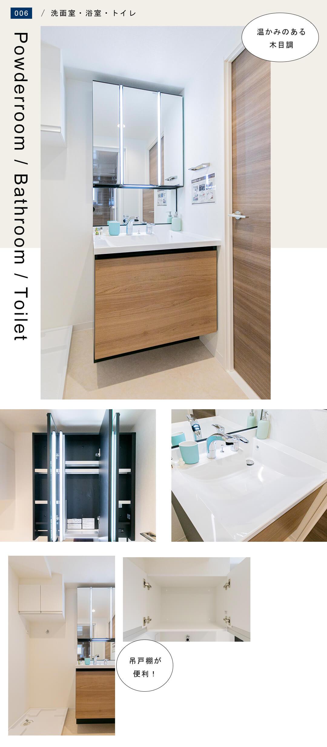 中銀目黒マンシオンの洗面室