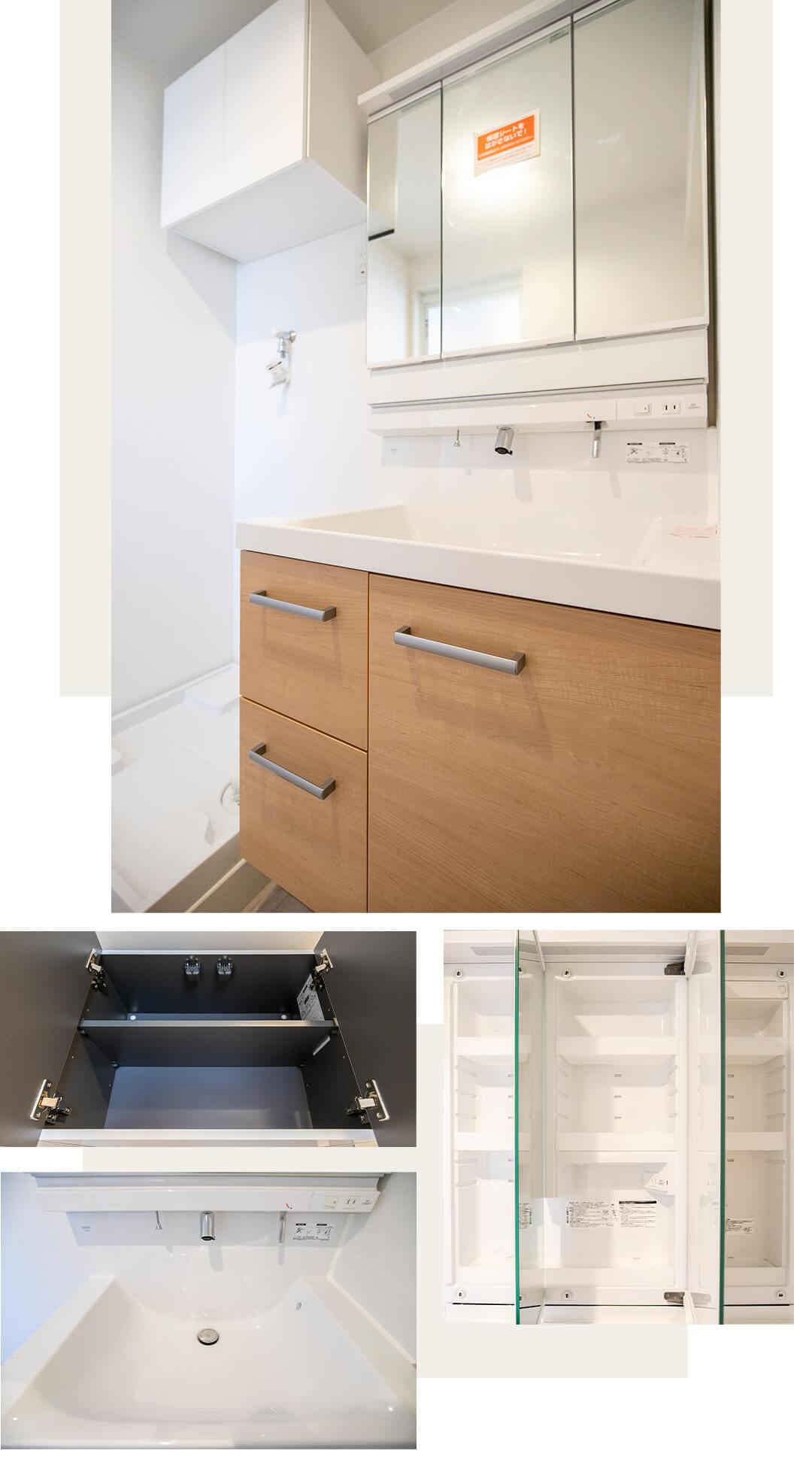 ベルハイム弦巻の洗面室