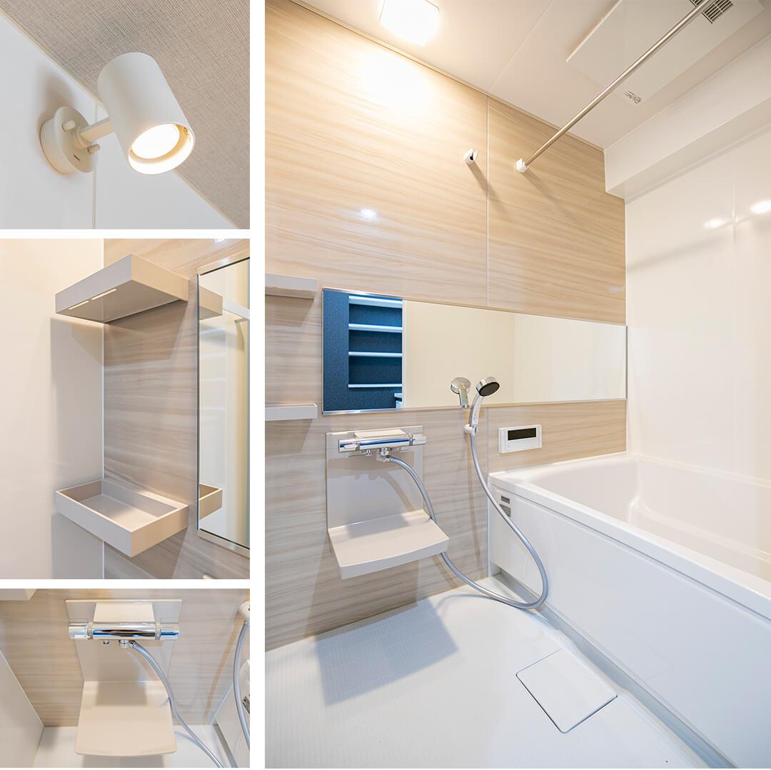ダイアパレス幡ヶ谷の浴室