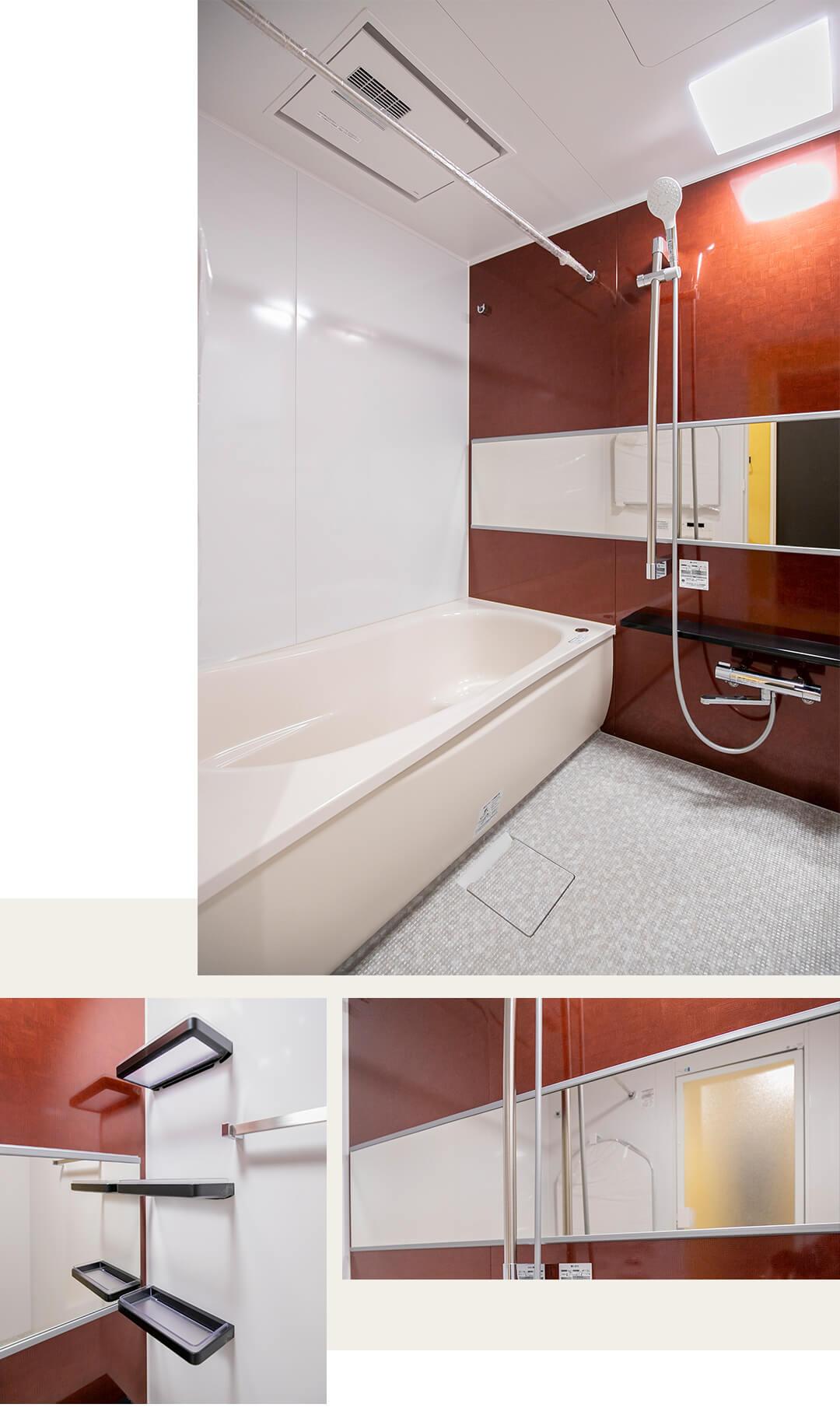 幡ヶ谷YMビルの浴室