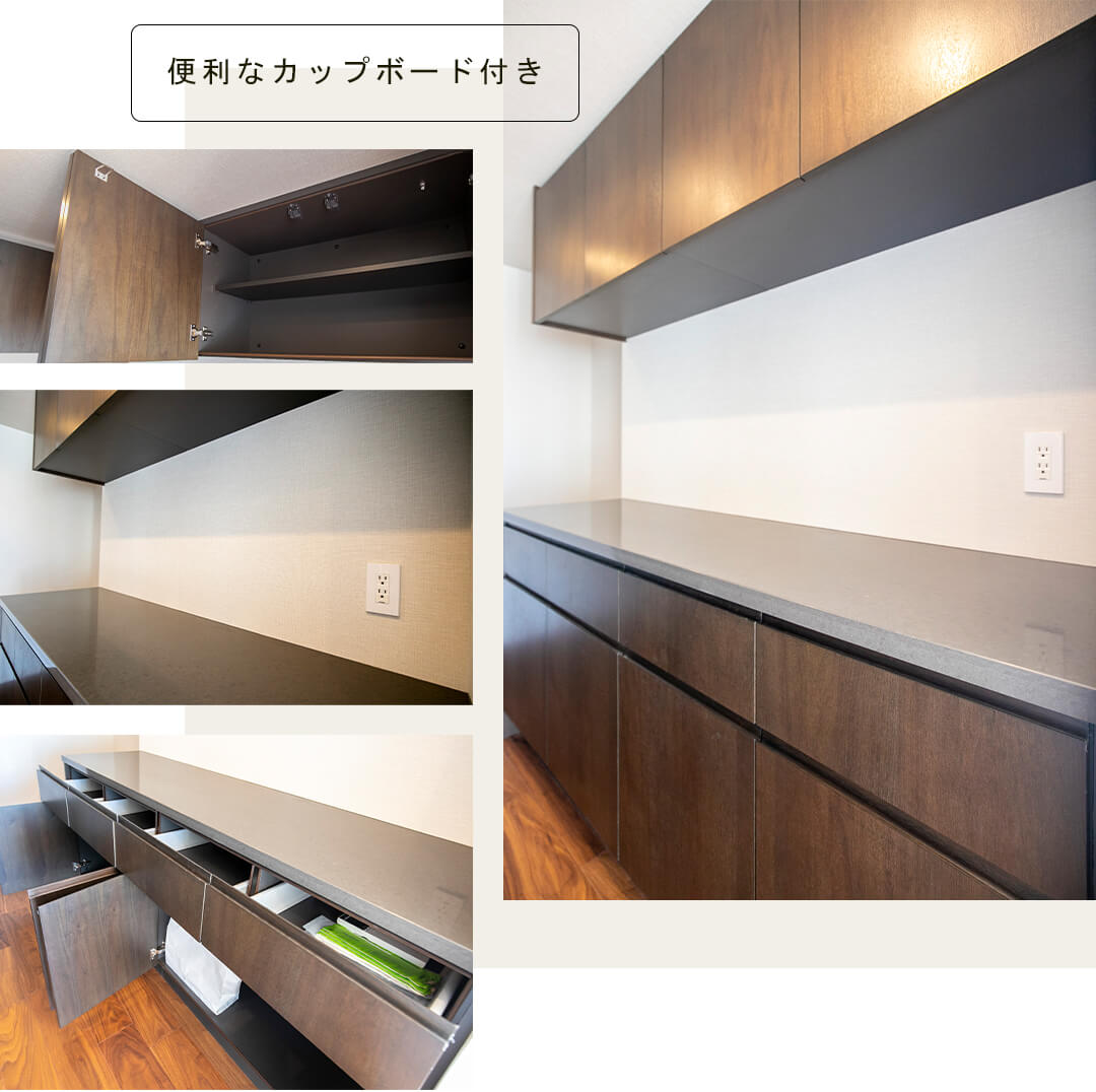 THE 千代田麹町 TOWERのキッチン