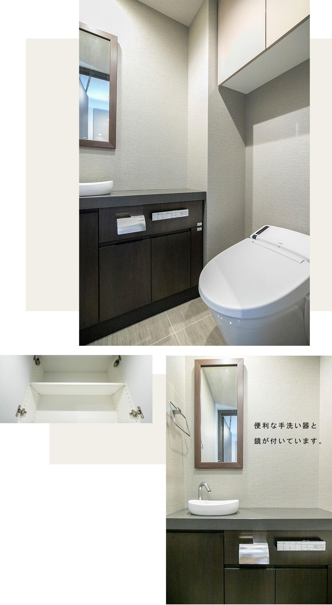 THE 千代田麹町 TOWERのとトイレ