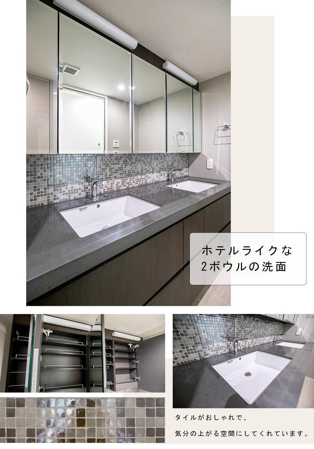 THE 千代田麹町 TOWERの洗面