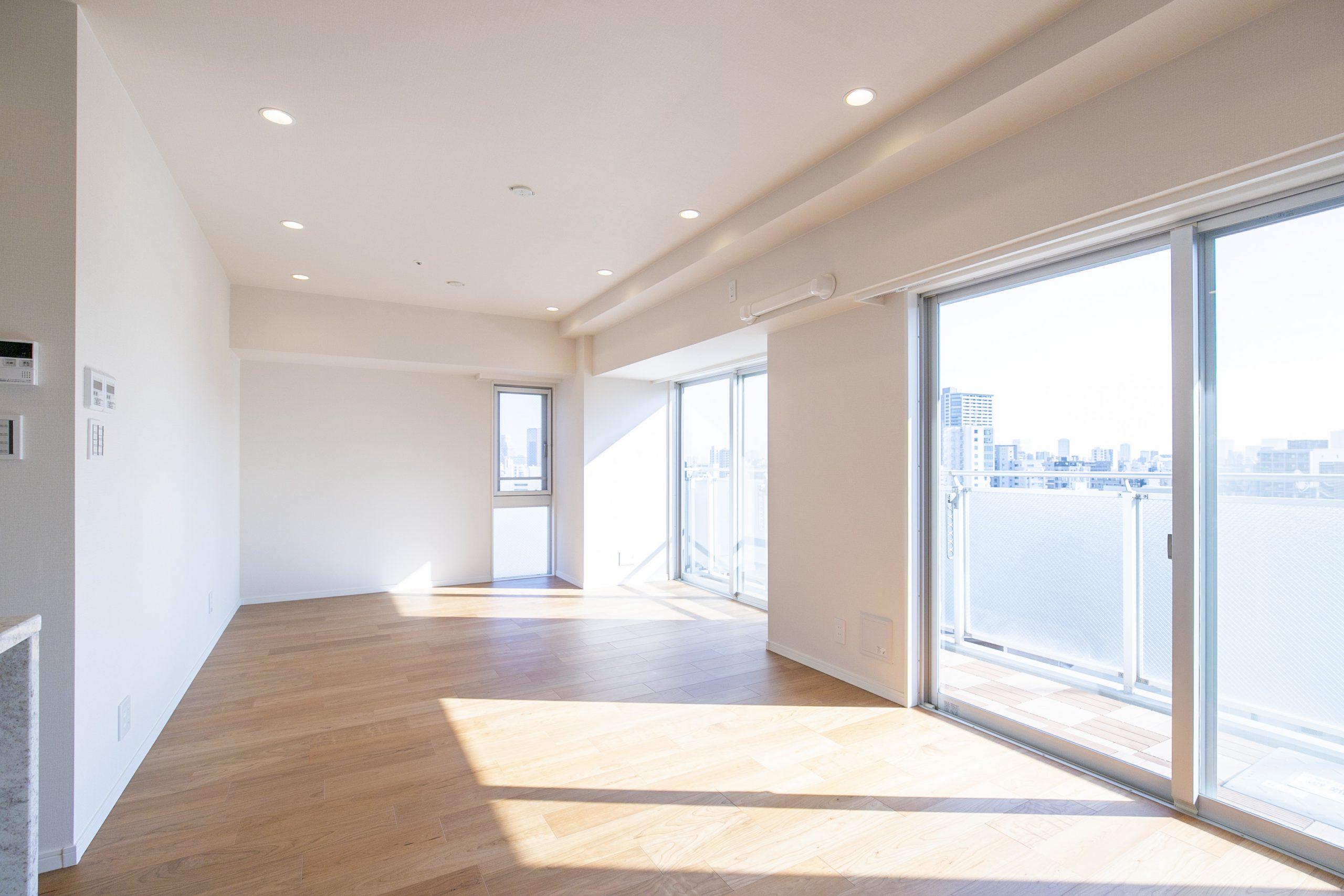 恵比寿 明るく開放的な部屋