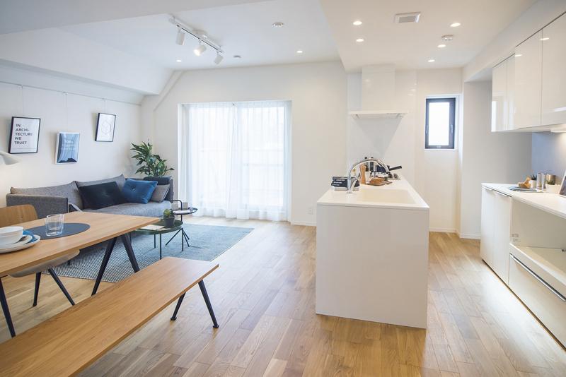 渋谷 最上階で3方角部屋で豊かな暮らし