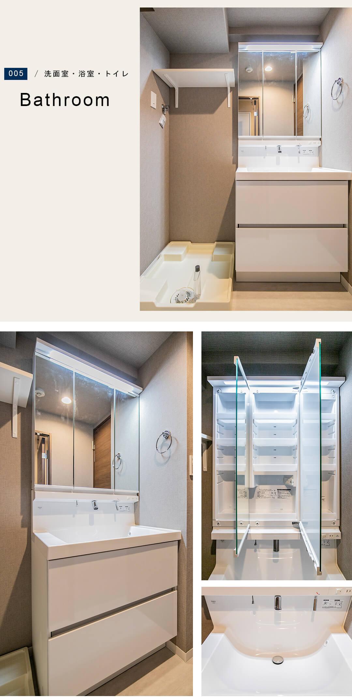 DOM経堂マンションの洗面室