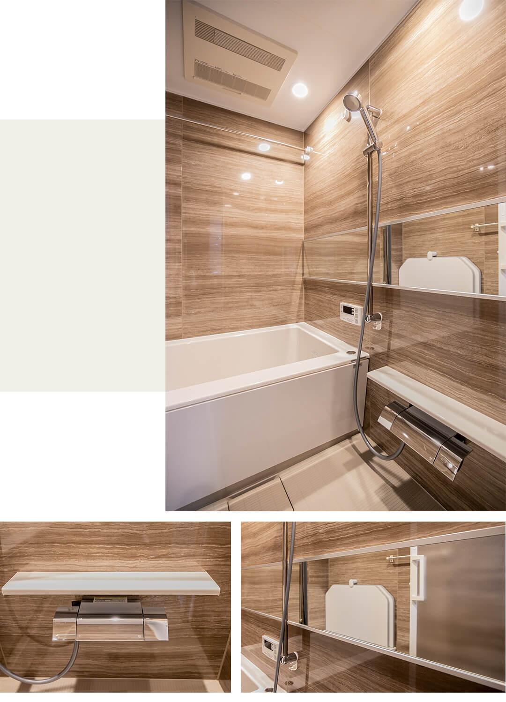 DOM経堂マンションの浴室