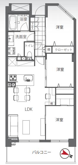 東京マスタープレイス 家族みんなで使えるデスクスペース