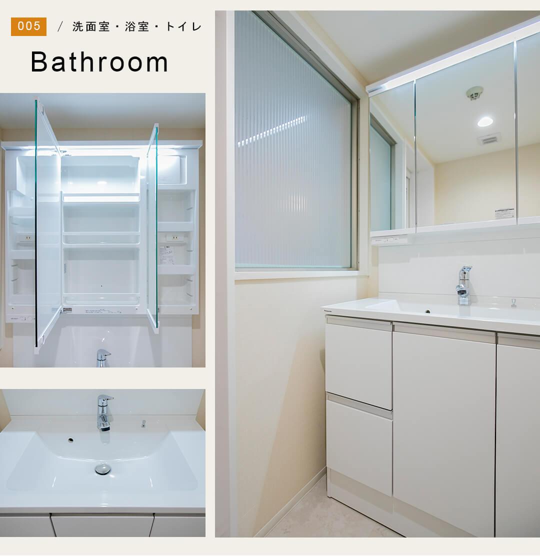 コスモセシオン目黒の洗面室