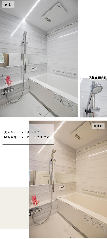 ライオンズマンション荻窪第6の浴室