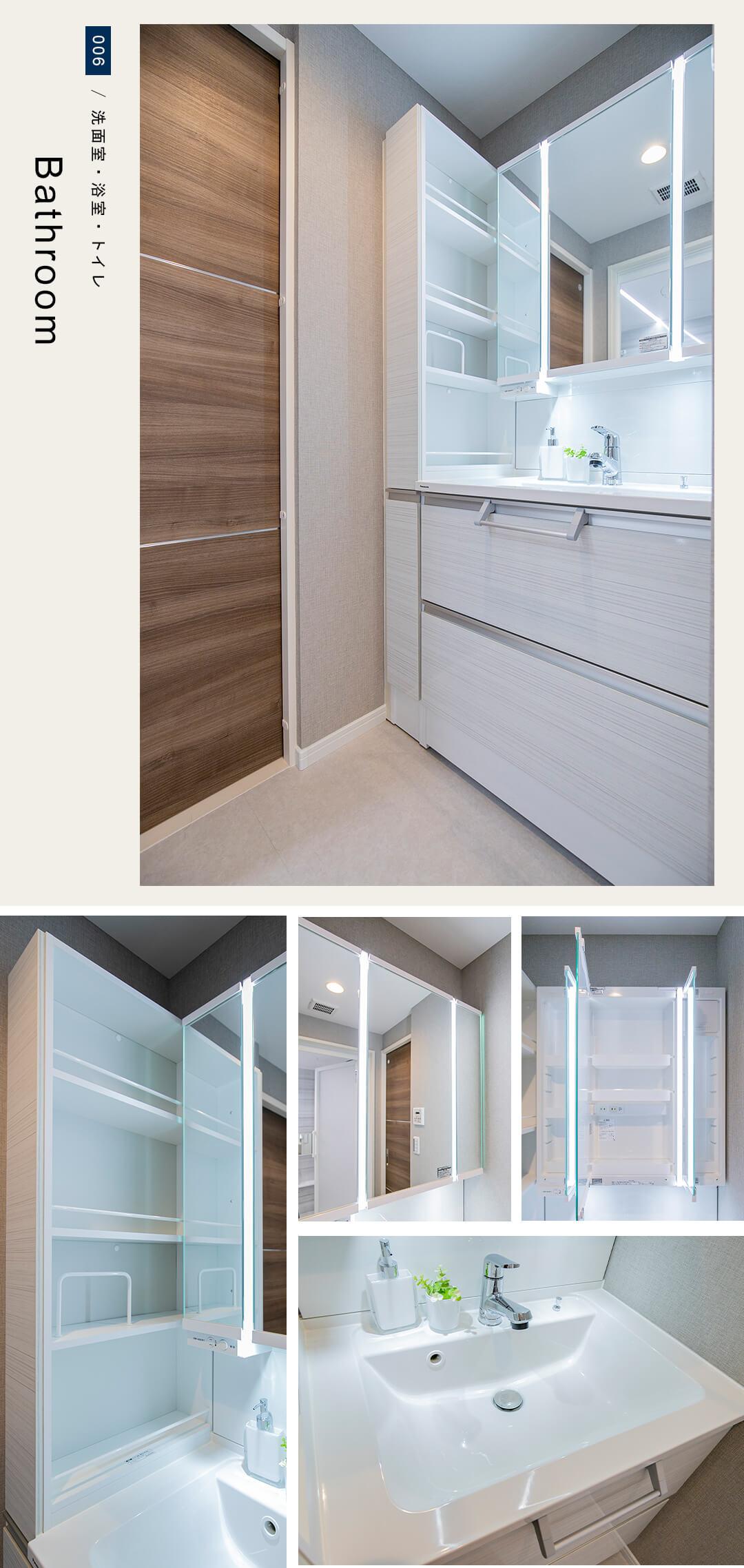 ライオンズマンション荻窪第6の洗面室
