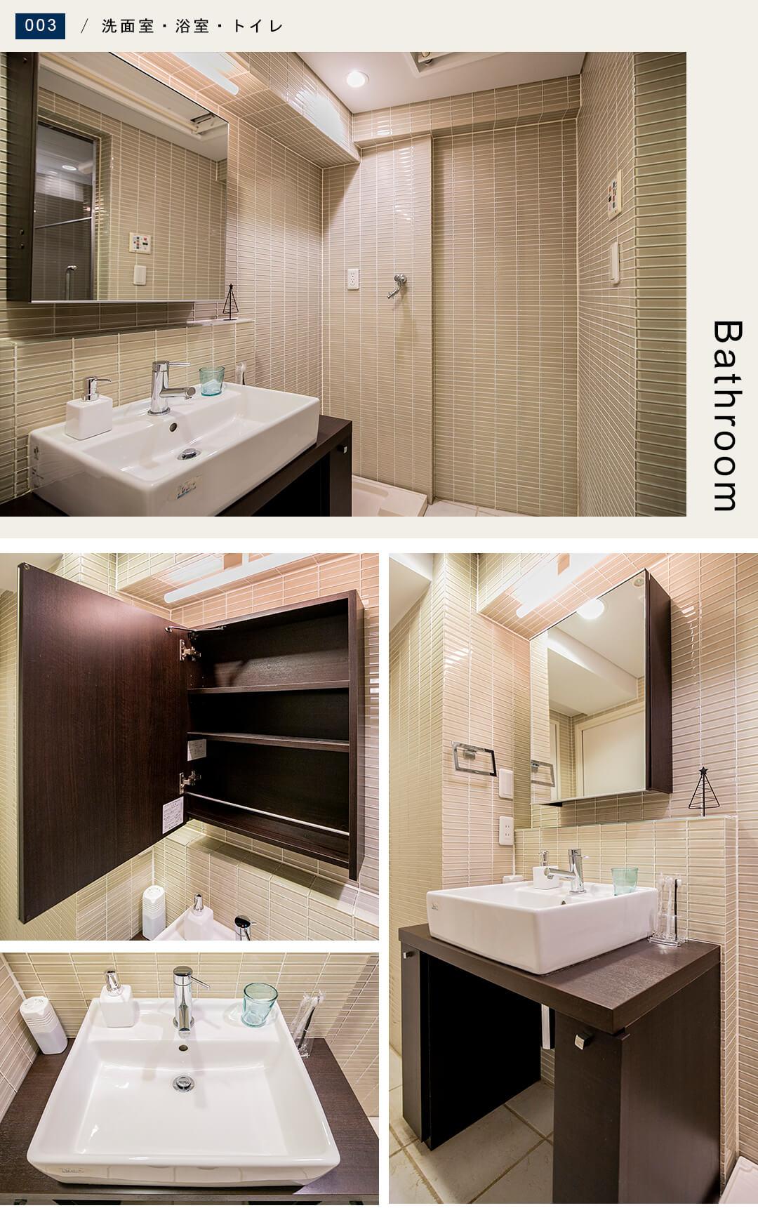 ゼクシア吉祥寺の洗面室