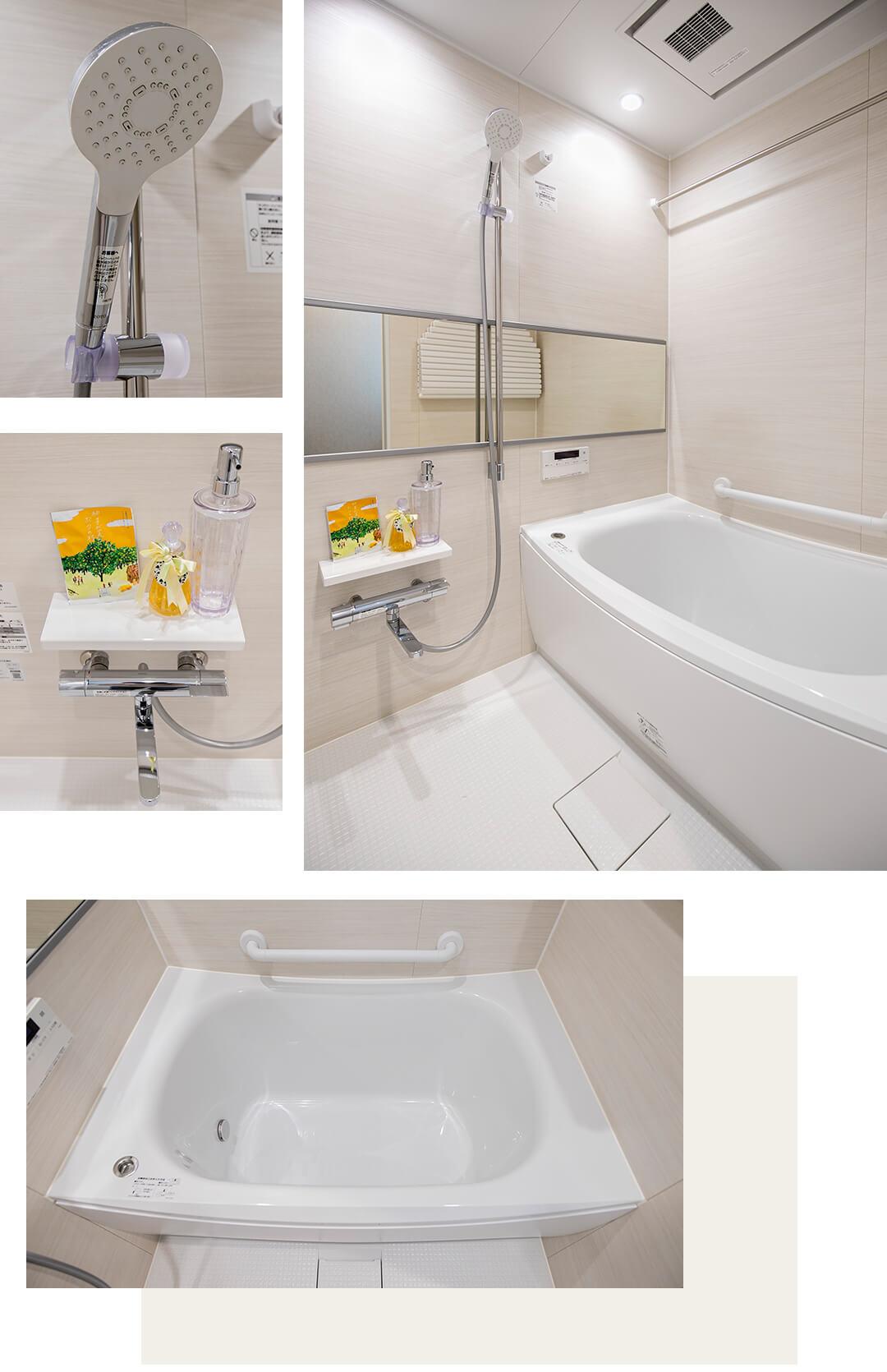 モナークマンション松庵の浴室