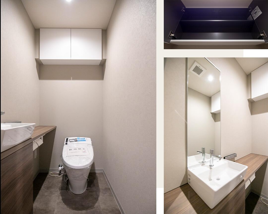 ラクシア品川ポルトチッタのトイレ