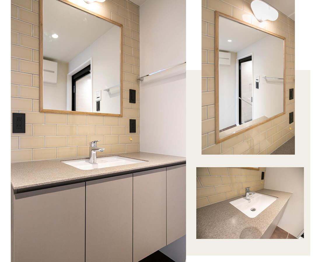 ジェイパーク桜新町の洗面室