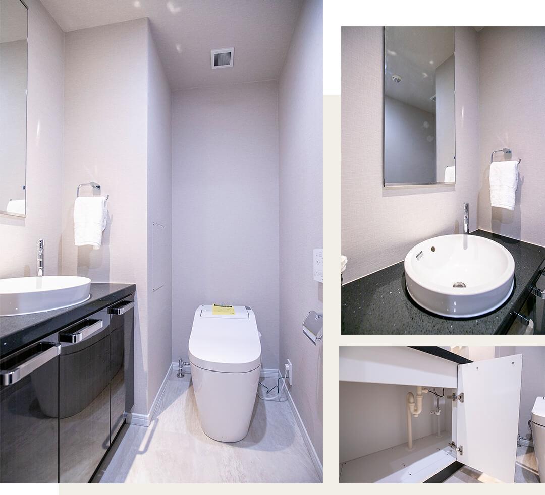 広尾ガーデンヒルズのトイレ