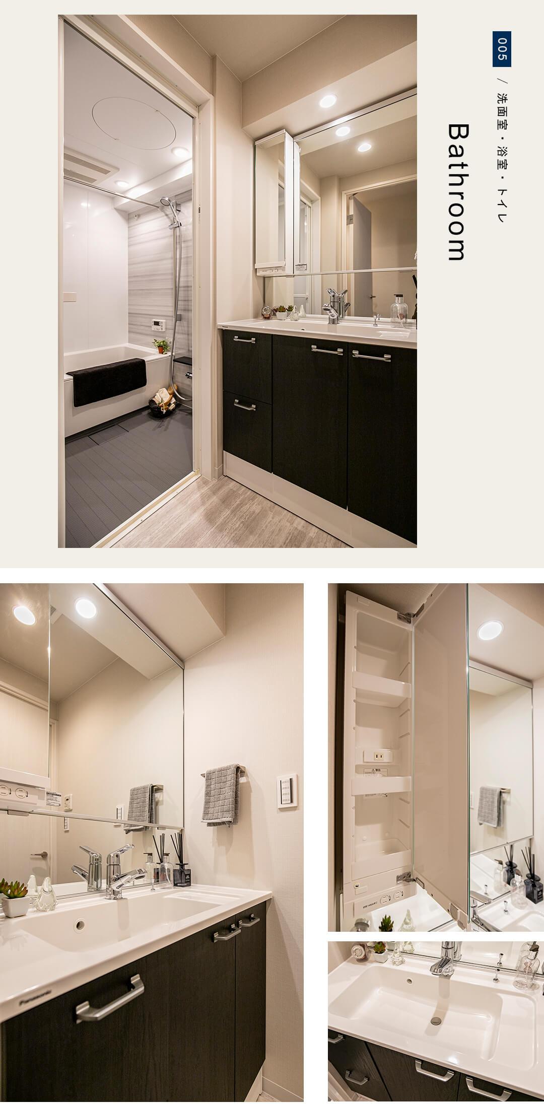 グランアビテ四谷三丁目ステーションフロントの洗面室