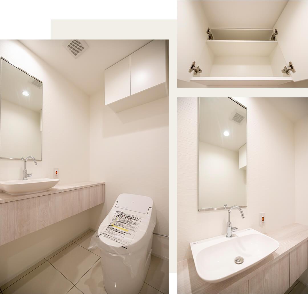 銀座タワーのトイレ