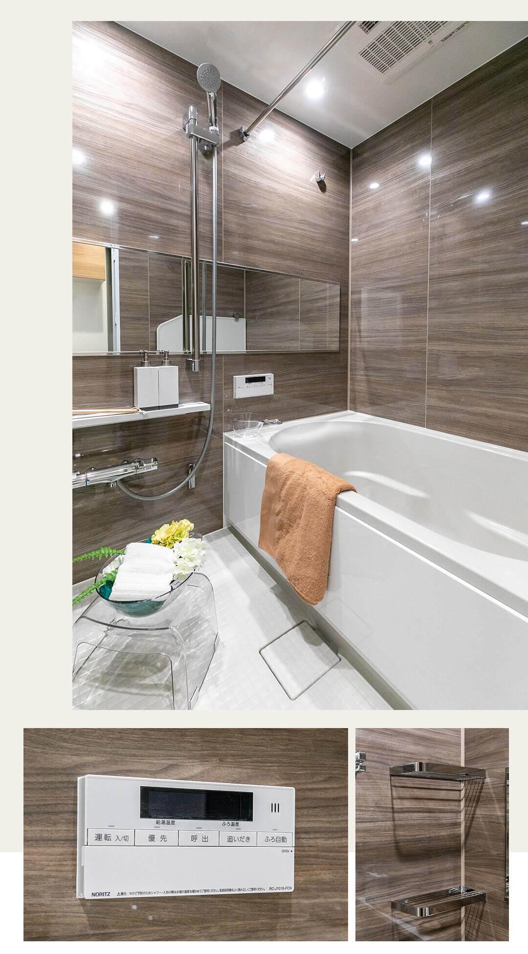 ダイアパレス上池台ブライトヒル 205の浴室