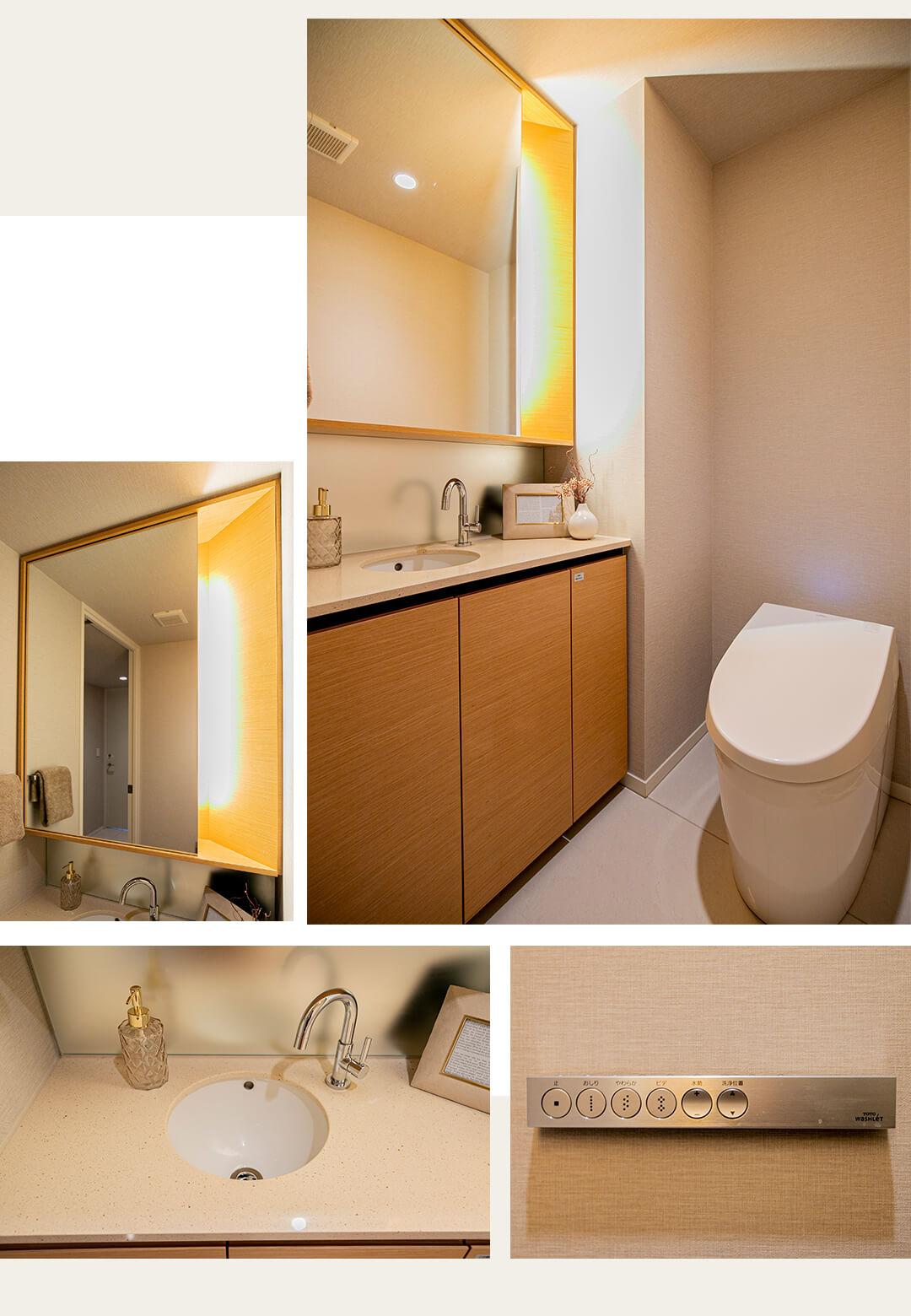 センチェリーフォレストのトイレ