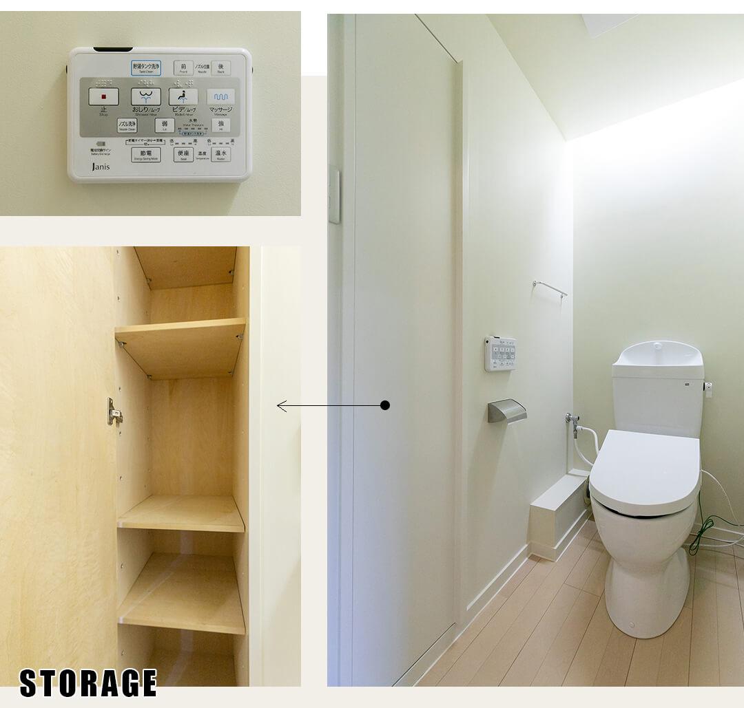 ワンマウンツ青山 302のワンマウンツ青山 302のトイレ