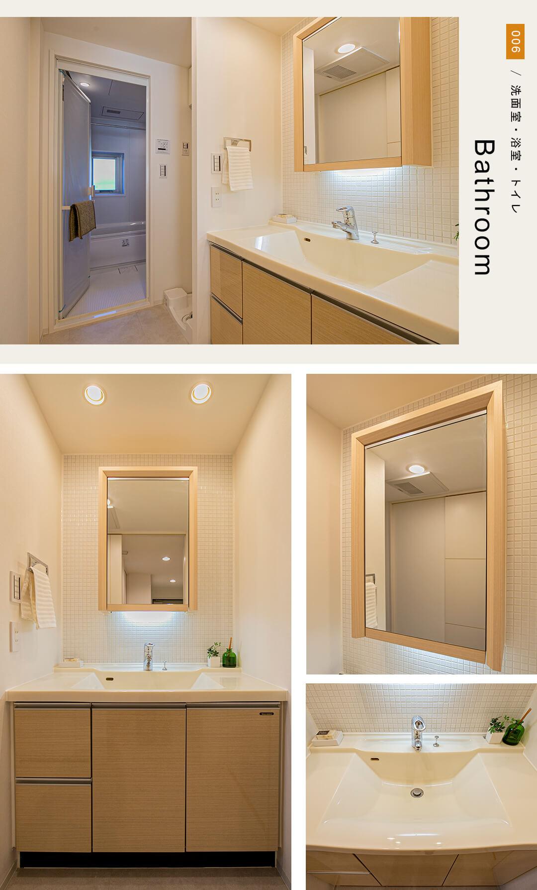 エクストール世田谷千歳の洗面室