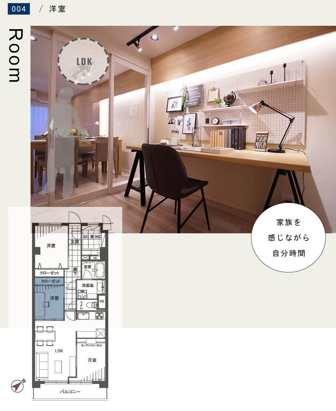 東建参宮橋マンション 706の洋室