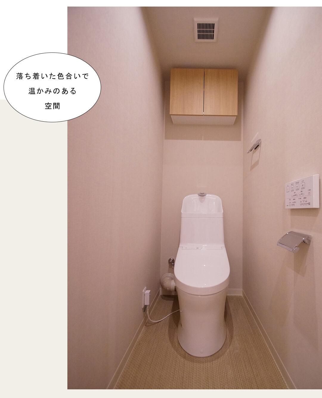 東建参宮橋マンション 706のトイレ