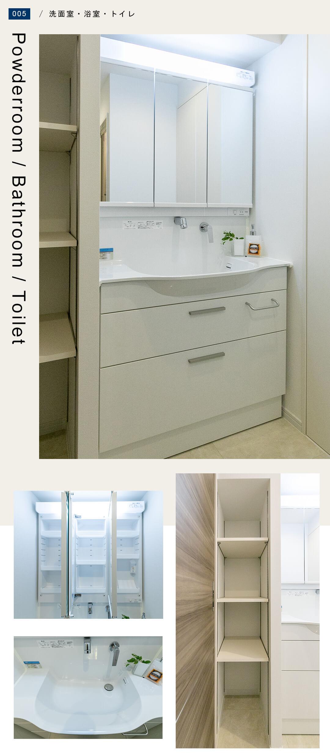 ペガサスマンション本郷 1202の洗面室