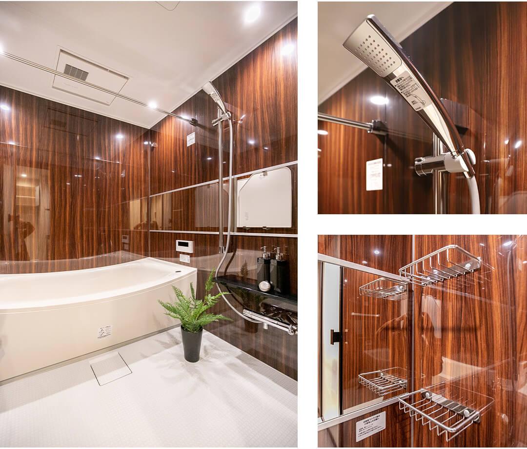 西早稲田シティタワーの浴室