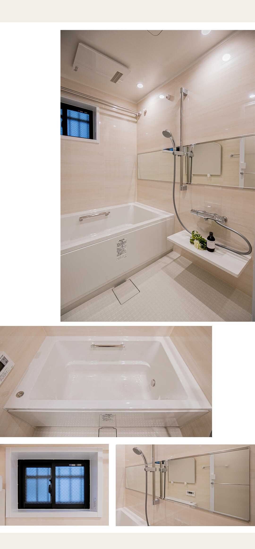 シーズクロノス新宿戸山の浴室