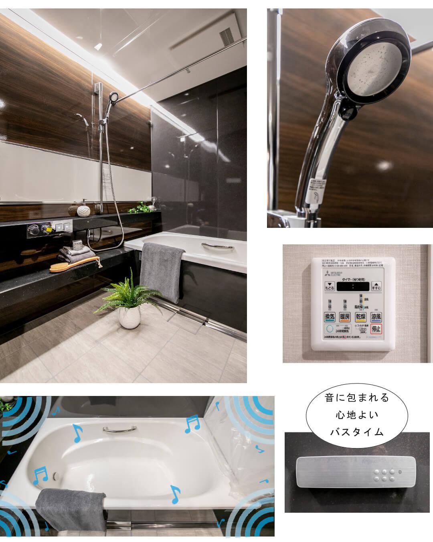 ザ・ウエストミンスター六本木 5XXの浴室
