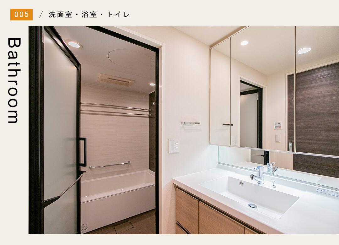 BELISTA高井戸駅前の洗面室