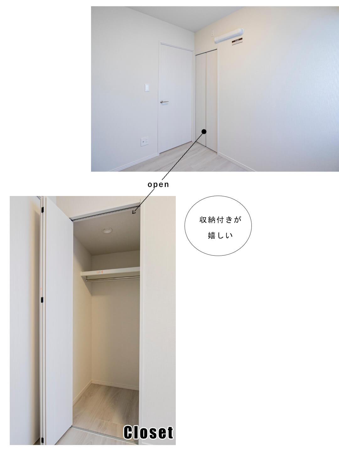 パレ・ドール方南町 207号室の洋室1
