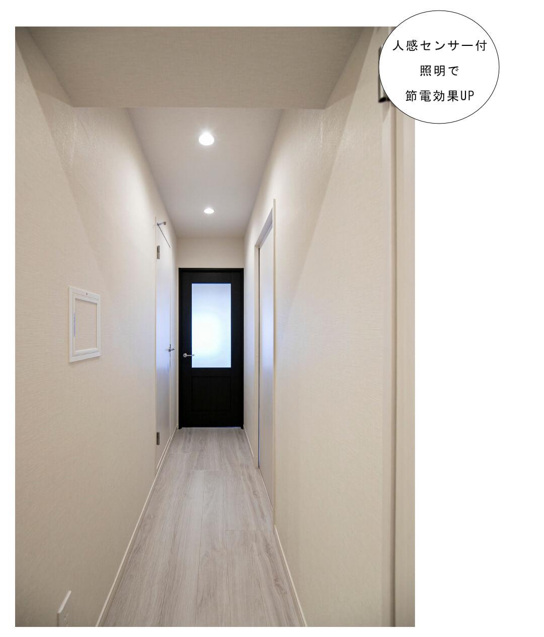 パレ・ドール方南町 207号室の玄関・廊下