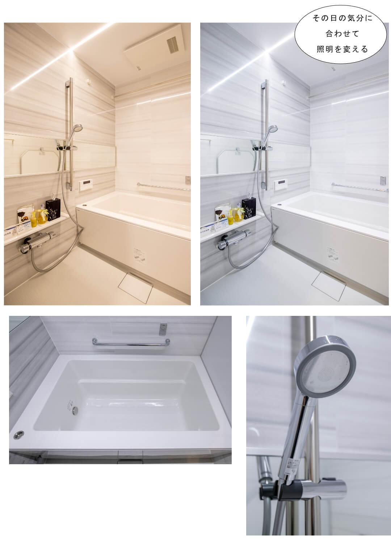 ハイマート渋谷神泉 302の浴室